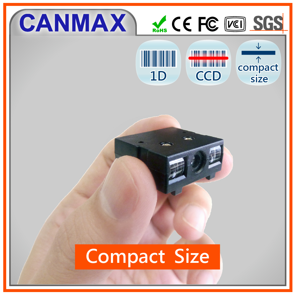 CANMAX 1D CCD OEM ODM Mini Barcode Reader Module