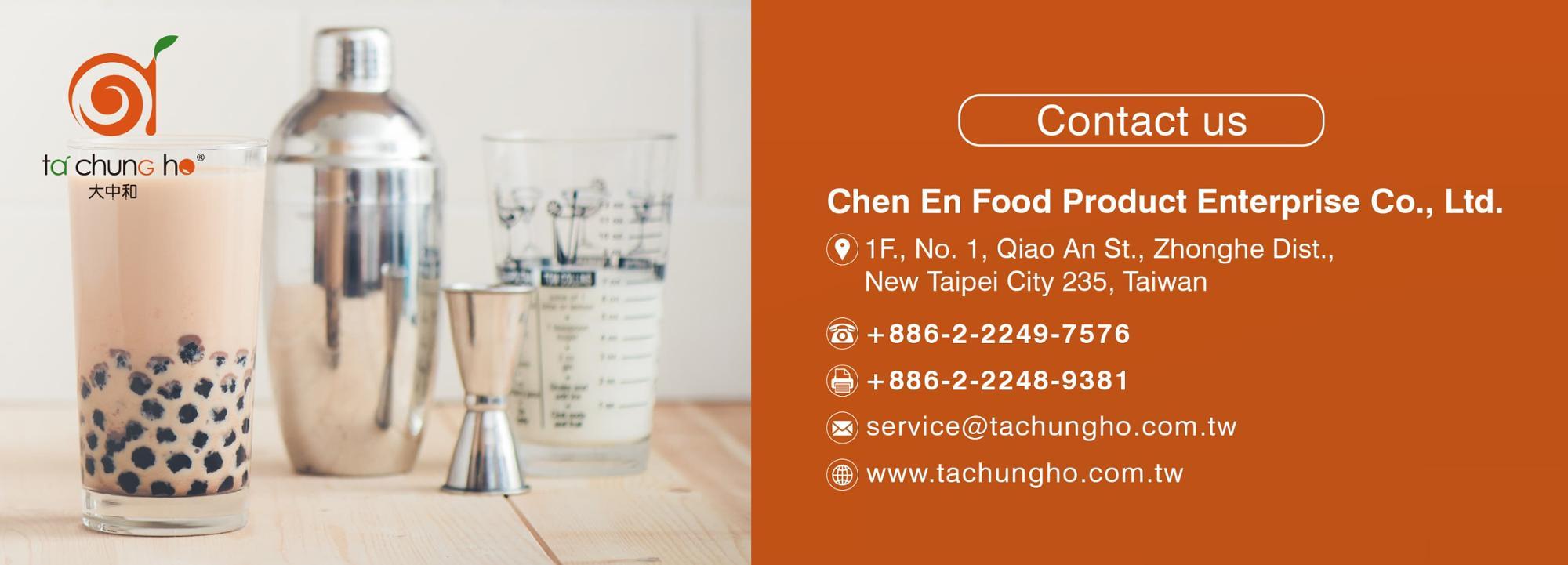 Taiwan TachunGho Original Non Dairy Creamer for bubble tea | Taiwantrade