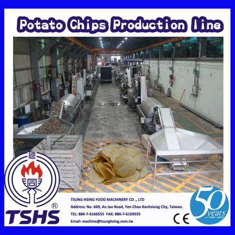 2014 Latest Continuity Stable Industry Cassava Chips Manufacturer