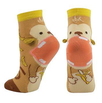 3D Big Mouth Crew Socks