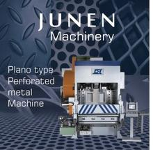 JUNEN Perforated Metal Machine: plano type