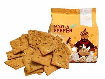 Pepper Biscuit Cracker