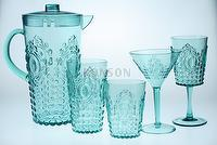 Drinkingware - Gem Design Teal Color