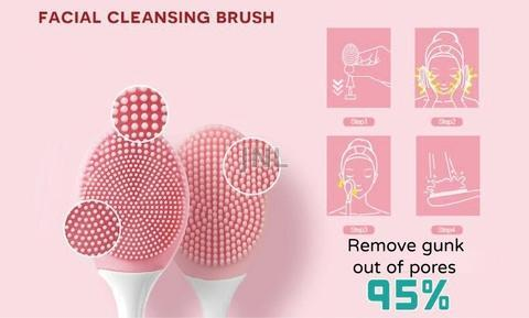 Facial Cleaning Brush Remove gunk out of  pores up to 95%