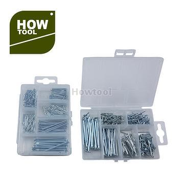 Taiwan 6 Different Size Wire Brads Nails Assorted With