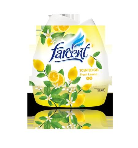 Flower shape scented gel