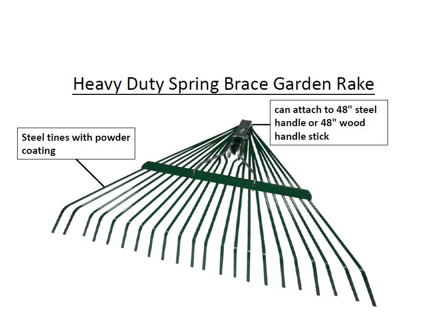 Duty Steel Brace For Handle