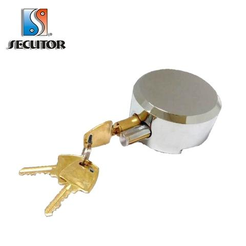 Hidden Shackle Puck Lock Round Padlock