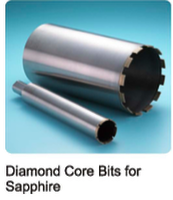 Diamond Core Bits for Sapphire