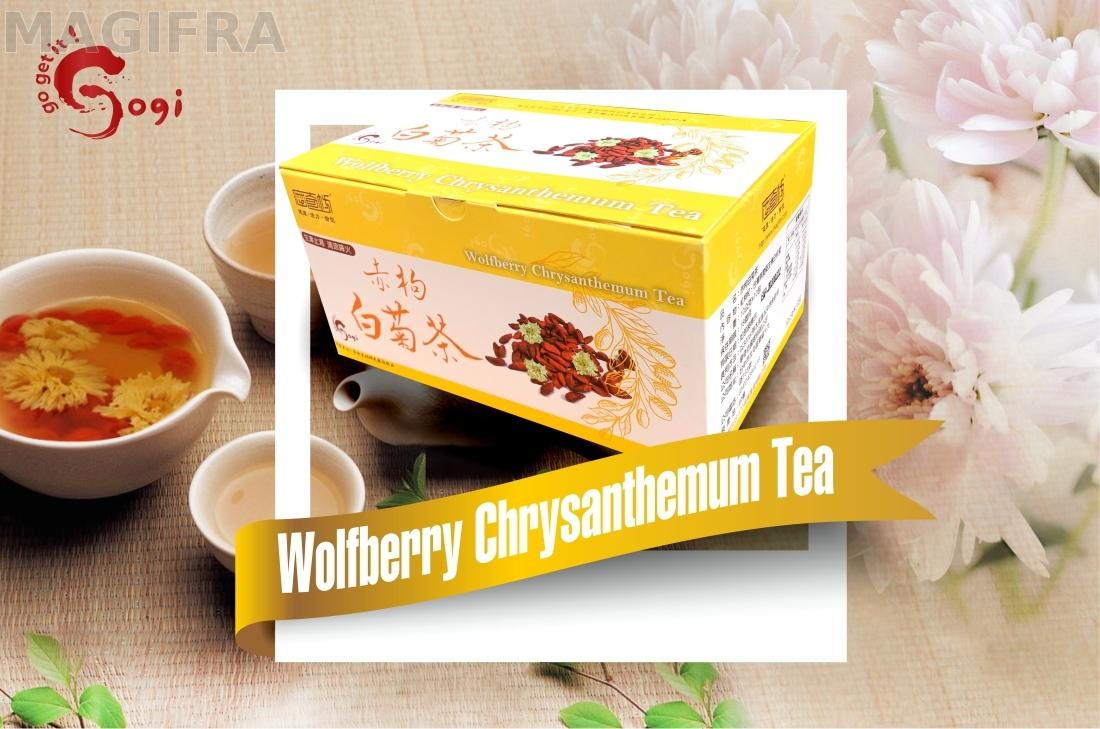 Wolfberry Goji Berry Chrysanthemum Tea 10g 10pcs Taiwantrade Com
