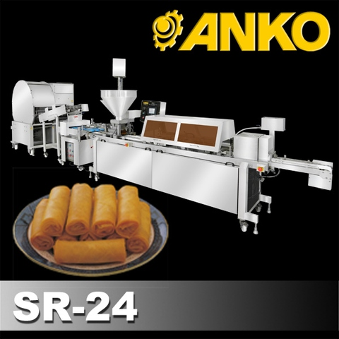 Automatic Spring Roll Making Machine (Stainless Steel, Commercial)