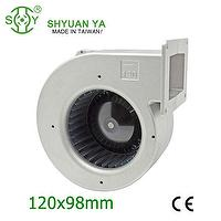 Kitchen exhaust plastic centrifugal blower fan