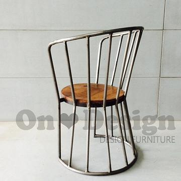 Taiwan ondesign industrial chair iron wooden chair larry trading co ltd - Cb industry chair ...