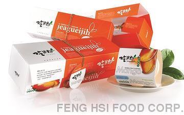 Fresh Fruit Desserts: Mango Pudding
