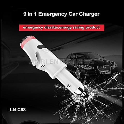 9 in 1 Multi-functuon Emergency Cat Charger Flashlight