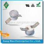 Disc-Type Auto-Reset Bimetal Thermostat Switch