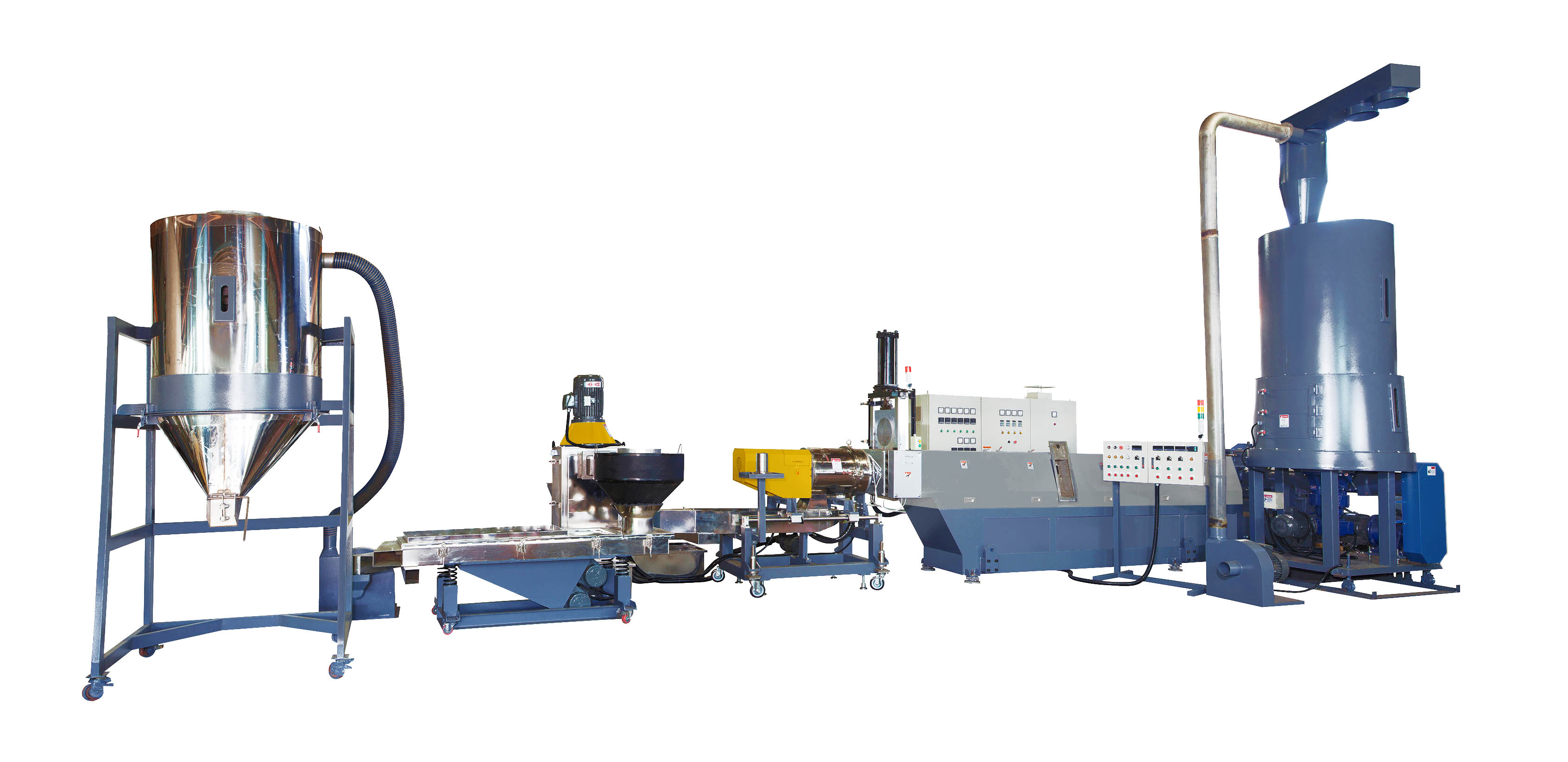 Taiwan Plastic Waste Recycling Machine (Die-face Cut with