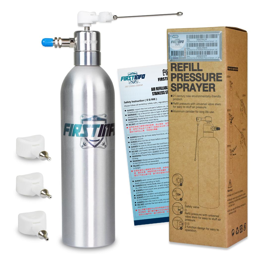 Aluminum Can Air Pneumatic Refillable Pressure Sprayer