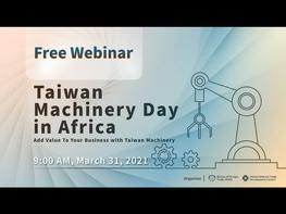 Taiwan Machinery is your best partner to support you to adopt intelligent manufacturing to optimize production, reduce costs and increase efficiency. Today we brought together 4 speakers to share their latest automation solutions and how they support their clients in Africa. Learn more about Taiwan Machinery http://www.twmt.tw Opening remarks from TAITRA Johannesburg office #TAITRA #yourbusinesspartner Special guest remarks from TAMI & TFPMA #TAMI Taiwan Association of Machinery Industry #TFPMA Taiwan Food & Pharmaceutical Machinery Manufacturers' Association Speech How SMEs Towards Instant Noodles Automation Manufacturing #KuoChangMachinery PET Bottles Packaging Solutions in Africa #CHUMPOWER Mass Customization and Future Proofing is the Way #PBSMachineTools How Taiwan Textile Machine Save Your Energy and Add Value to Your Production #GOTEX&GOTECH