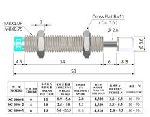 HYDRAULIC SHOCK ABSORBERS SC SERIES