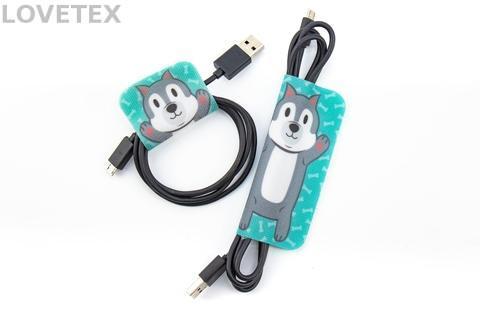 Cable Clip - Dog Hug