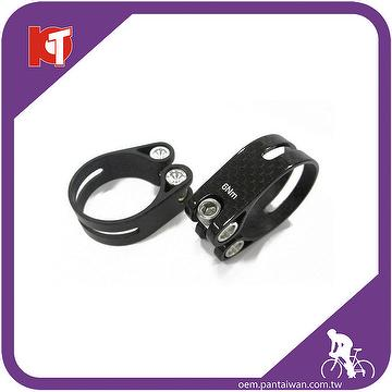 The bike carbon seat post clamp