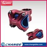 【CHANGE】Bicycle Stem S35R Color:Red - 2 in 1 Designed for 31.8 and 35mm bars