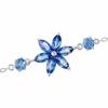 10K White Gold Sapphire Bracelet