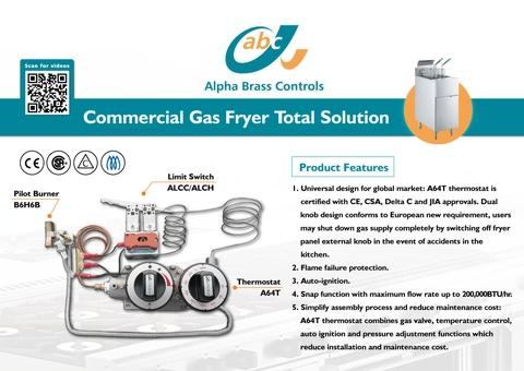 A64T Combination Thermostat & Fryer Solution Package