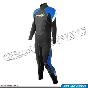 3mm Finemesh/Super-Stretch Fullsuit for Man, Wetsuit, Diving