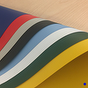 Textured Flexible PVC Sheet - Opaque Colored