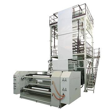 MONO/DOUBLE LAYER TPU BLOWN FILM MACHINE, TPU inflation machine, TPU tubular film making machine, TPU inflation tubular film making machine