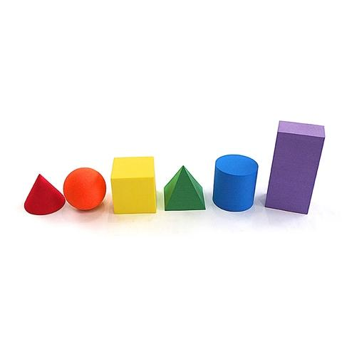 EVA Foam Geometric solids 6PCS