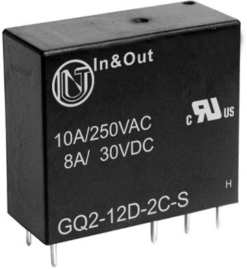 继电器 GQ2 功率继电器 工业继电器 宁波世通电子 继电器制造商