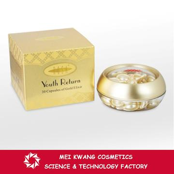 Taiwan Rosa 30 Capsules Of Gold Elixir Skin Care Product Mei
