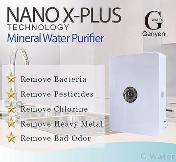 Counter Top 3 Stage Mineral Water Purifier KX CTO Filter Remove chlorine lead