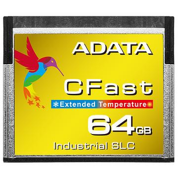 ADATA ICFS332 8GB/16GB/32GB/64GB Wide Temperature Industrial-Grade SLC CFast Card