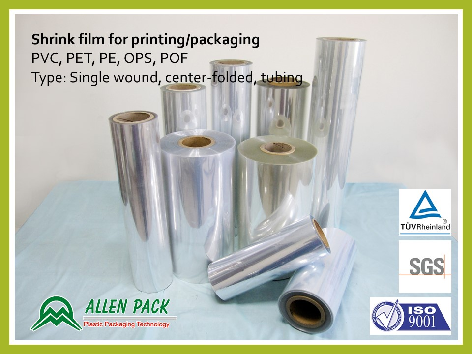 Taiwan PVC Shrink Label film | ALLEN PLASTIC INDUSTRIES CO