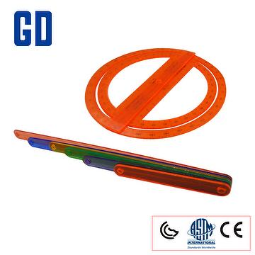 Large Geosticks W/Protractor