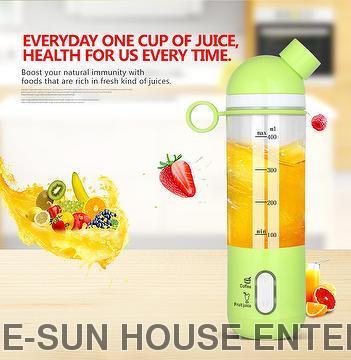Colourful Electric Portable Juice Blender