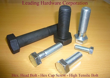 Hex. Head Bolt - Hex. Cap Screw - High Tensile Bolt