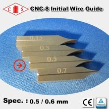 CNC-8 Initial Wire Guide 0.5 / 0.6 mm - Front