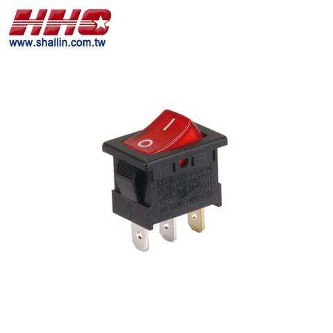 illuminated rocker switches shallin electronics co , ltd rocker switch wiring 4 pin miniature snap−in illuminated rocker