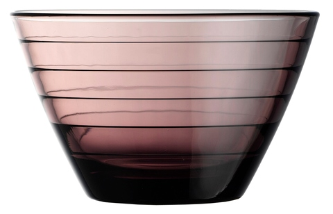 414ml Color Glass, Bowl