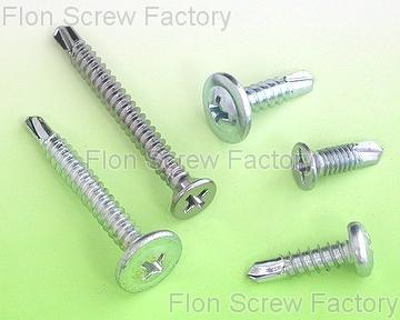 galvanized self drilling screw, zinc-coated screw