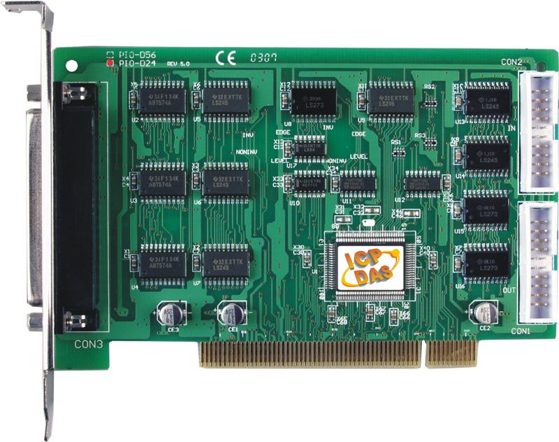 PCI Express, 56/24-channel DIO Board
