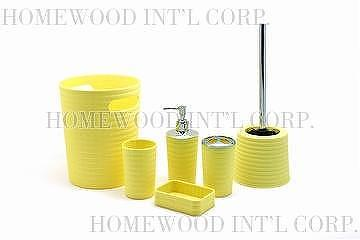 ... Bathroom Accessories Yellow
