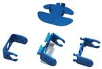 Servo Robot Bracket-Linkage_blue eduation toy