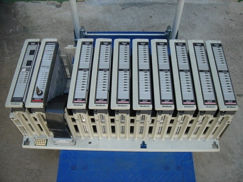 MODICON AS-H827-209 PRIMARY HOUSING 11SLOT 984-38X 48X 68X 78X 27IN