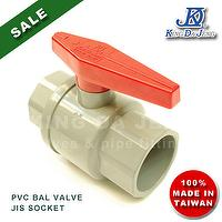 PVC Ball Valves - JIS 1-1/2